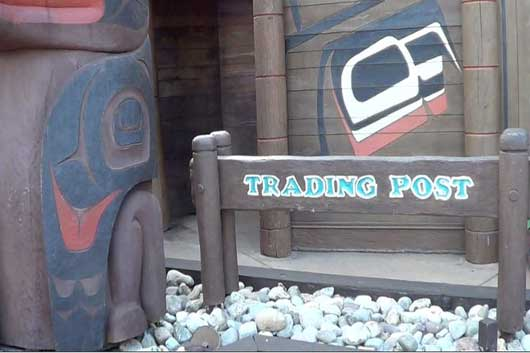 The Trading Post is a shop inside the Canada Pavilion at Epcot. Here you will find maple syrup, sweets and other Canadian delights. #CanadaPavilion #Epcot
