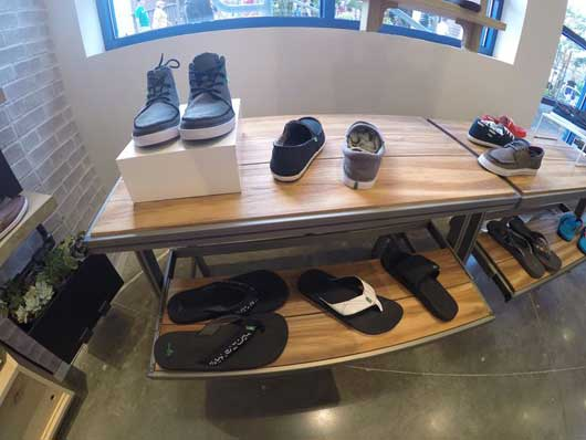 #DisneySprings #Sanuk Their shoe offerings aren't limited to women's footwear. Men can also find a number of stylish shoes that will soothe your tired feet.