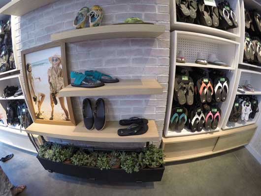 #DisneySprings #Sanuk If you have been to Florida, you know comfortable footwear is a must. Flip-flops are a year round staple and you are sure to find a great pair here.