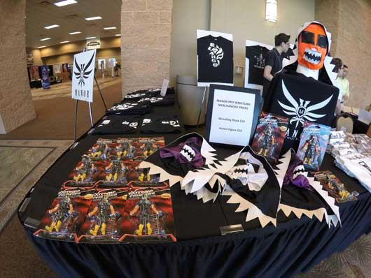 #ManorPro # Wrestling Check out the awesome wrestling masks and other merchandise that is offered here. The price points are great.