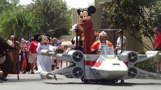 Stars Wars Weekends at Hollywood Studios