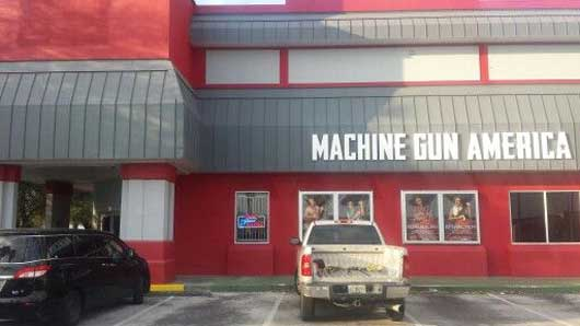 At Machine Gun America you are able to try your hand at shooting live ammunition in a controlled environment. #MachineGunAmerica