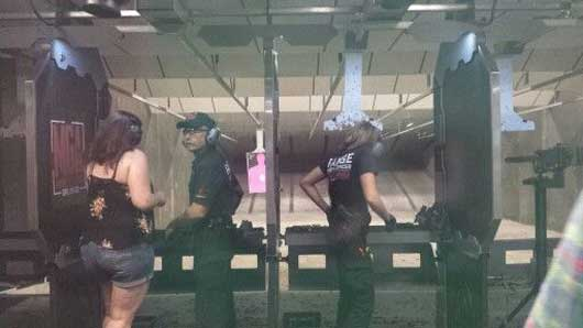 Inside the shooting range you will be accompanied by a trained Range Safety Officer to ensure that you are handling all weapons properly. #MachineGunAmerica