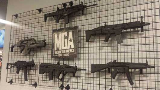 There are a number of different machine guns that you can choose to shoot with at Machine Gun America. #MachineGunAmerica
