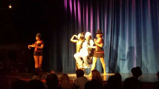You could even be one of the lucky guests to be pulled on stage to take part in the action. #CaponesDInnerShow