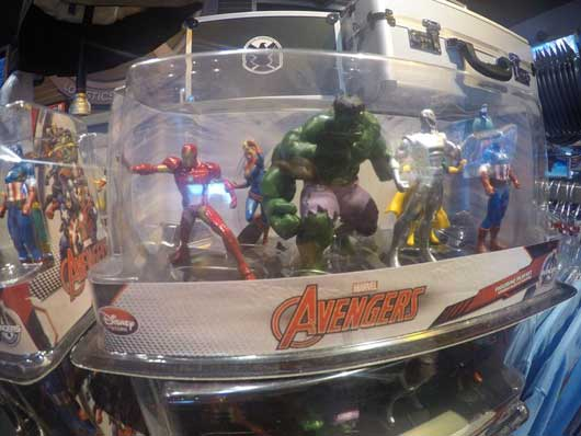 You can scoop up the whole Avengers crew figurine set as well. This is a perfect holiday or birthday gift. It's always a great way to let a loved one know you remembered them while you were having a blast at Disney World. #SuperheroHeadquarters #DisneySprings