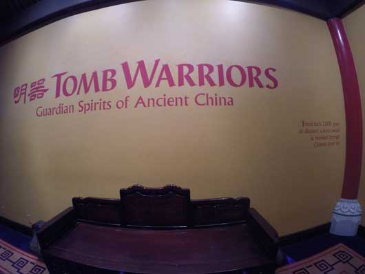 The Tomb Warriors exhibit in the China Pavilion explains the origins and discovery of the Terracotta Army in China. Seeing these replicas is much more impressive than seeing them in a photo. #ChinaPavilion #Epcot Center