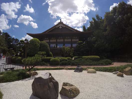 Time some time to relax at one of the gardens. The rock gardens are maintained by Buddhist priests. #JapanPavilion #Epcot