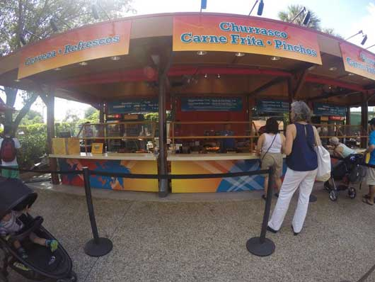 #VivaLaMusica #Seaworld If you don′t know what any of the items are since everything on the signage is in Spanish you can ask the counter person for a description of the items. You won′t be disappointed with the offerings. Try a pincho and cold cerveza to start.