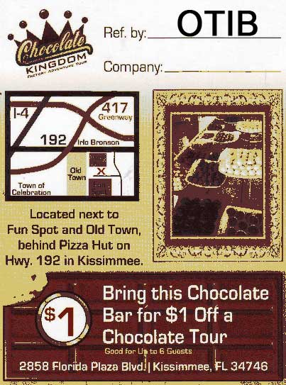 Chocolate Kingdom Coupon