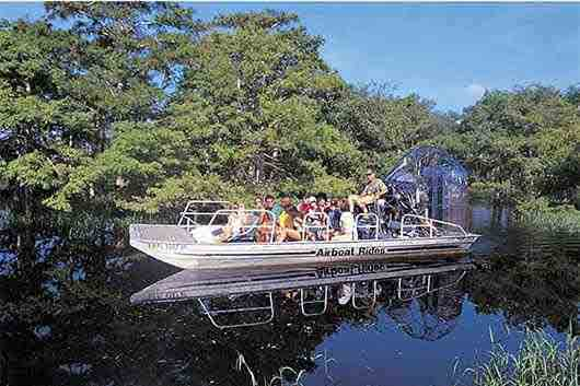 Kennedy Space Center Airboat Safari