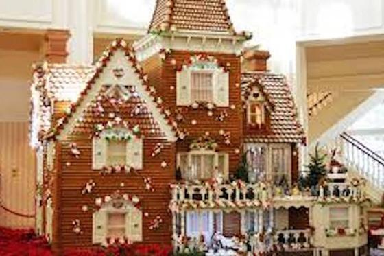 Snow, Ice, and Gingerbread at Gaylord Palms Resort 1