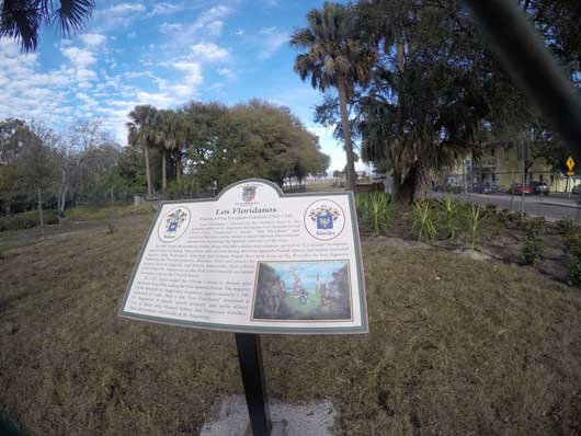 Los Floridanos is a term used to describe children born to Spanish settlers between 1565-1763. There is a tribute to these immigrants in historic St. Augustine. #St.Augustine #OrlandoSightseeing