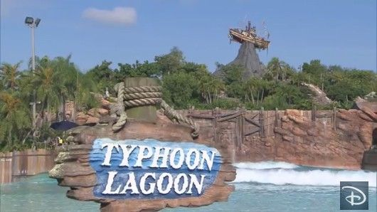Typhoon Lagoon Beach Water Park